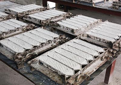 苗木工場のなまこ壁生産
